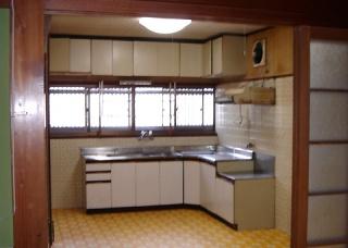 Before-キッチン(リフォーム前)