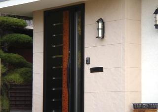 After-玄関ドア(リフォーム後)